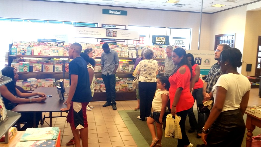 Attendees at B&N West Oaks, TX