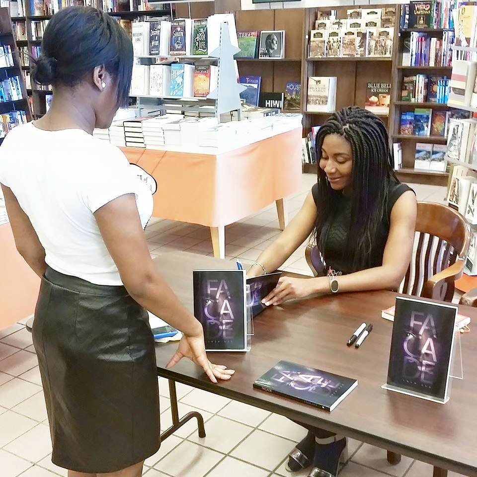 Book signing at B&N, West Oaks, TX