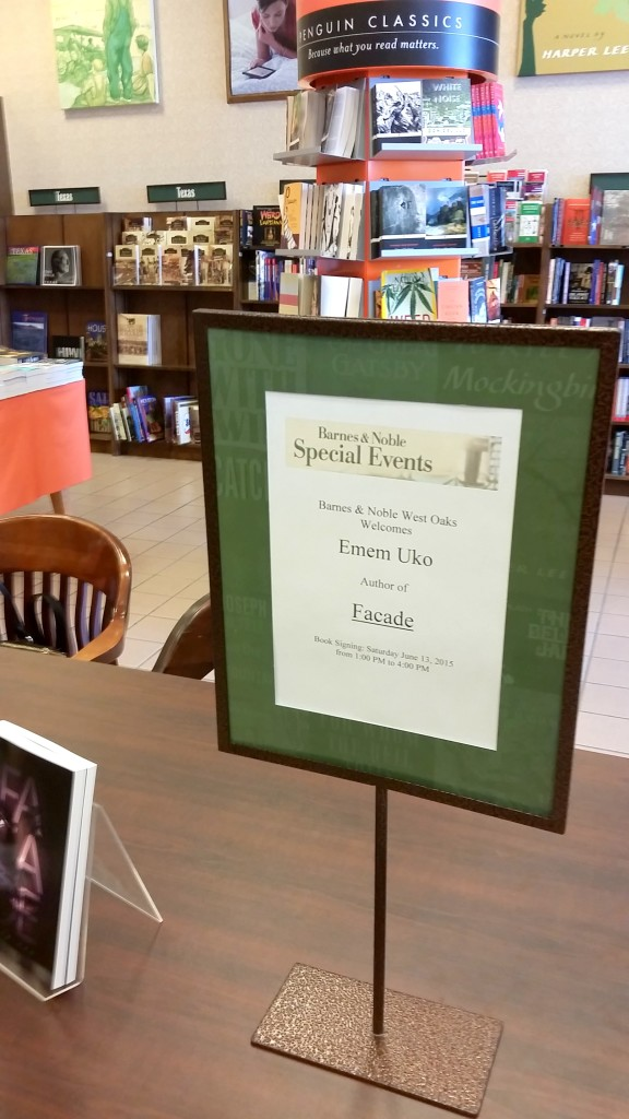 Barnes & Noble Author Signing Event, West Oaks, TX